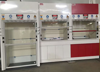 12.7mm Worktops Chemical Fume Hood Adjustable Air Volume Up To 0.5m/S
