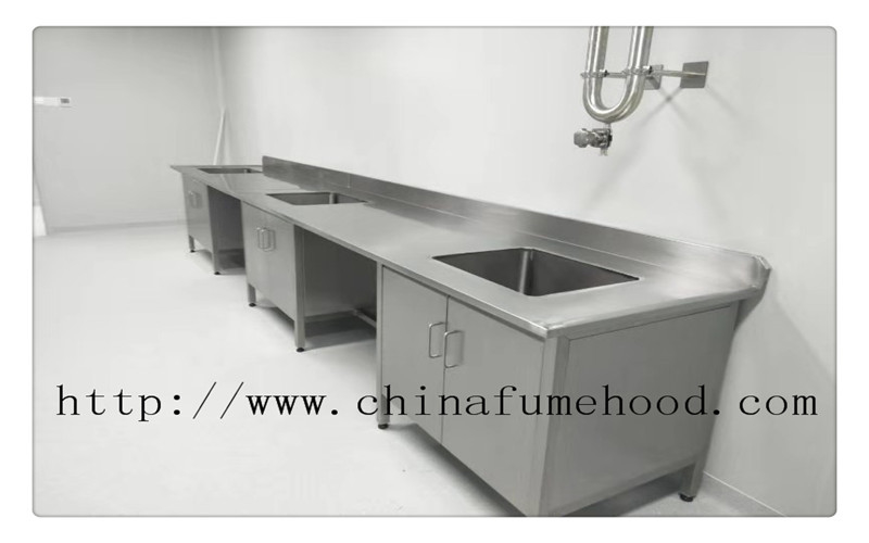 School Stainless Steel Lab Furniture Stainless Steel Laboratory Furniture Bench Tables SGS Certificated