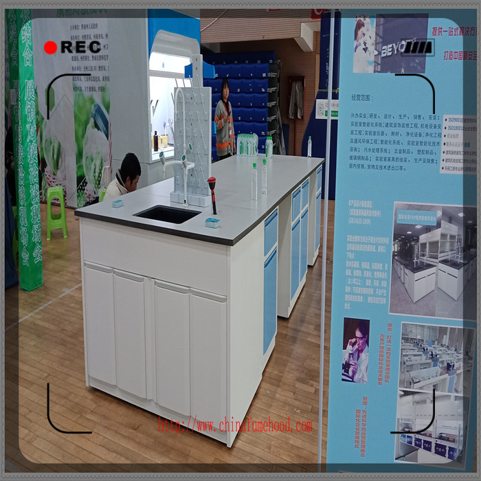 Durable Chemistry Lab Furniture FRP Lab Cabinets And Countertops 5 Years Warranty